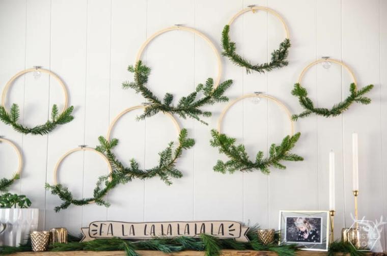 Thèmes de Noël style bricolage