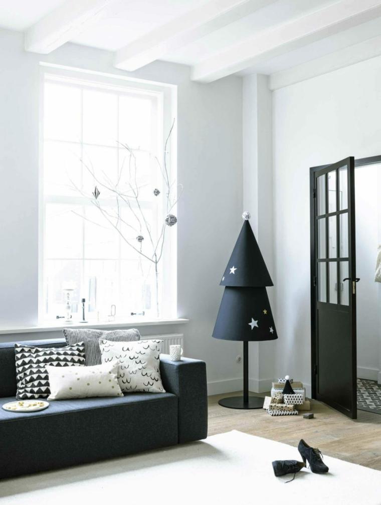 idées de décoration de Noël moderne noir