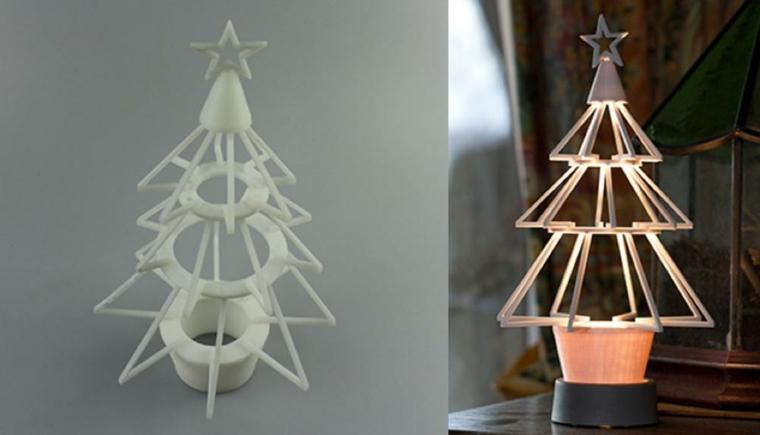 Décorations de Noël minimalistes