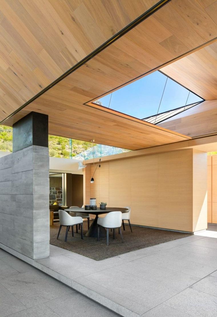 espaces intérieurs ouverts modernes