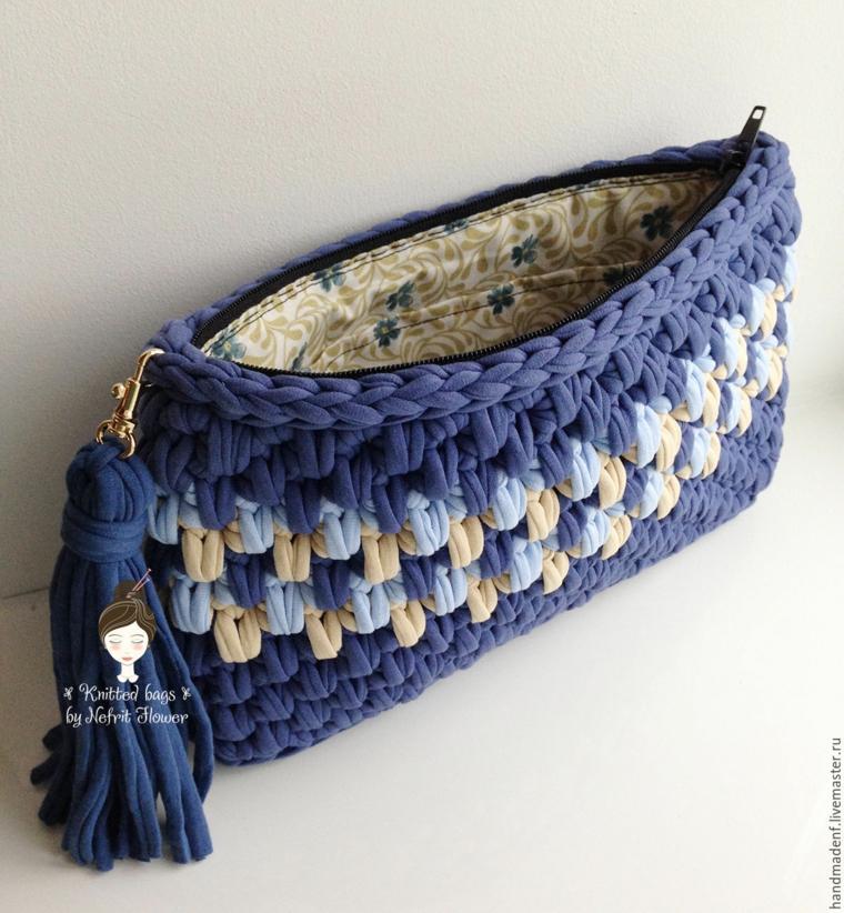 sacs à main tricotés
