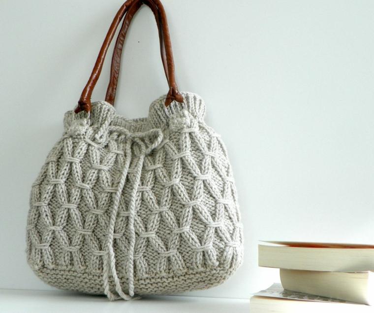 sacs en tricot tendances