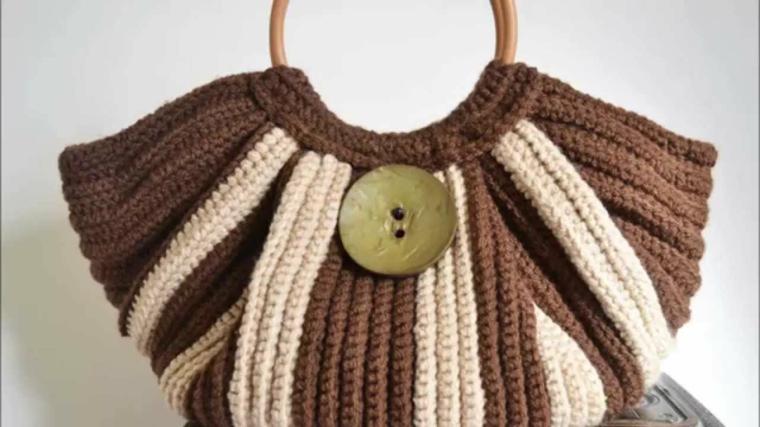 dessins de sacs tricotés