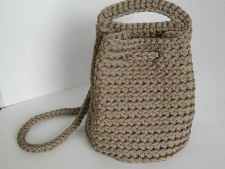 conception de sac en tricot moderne