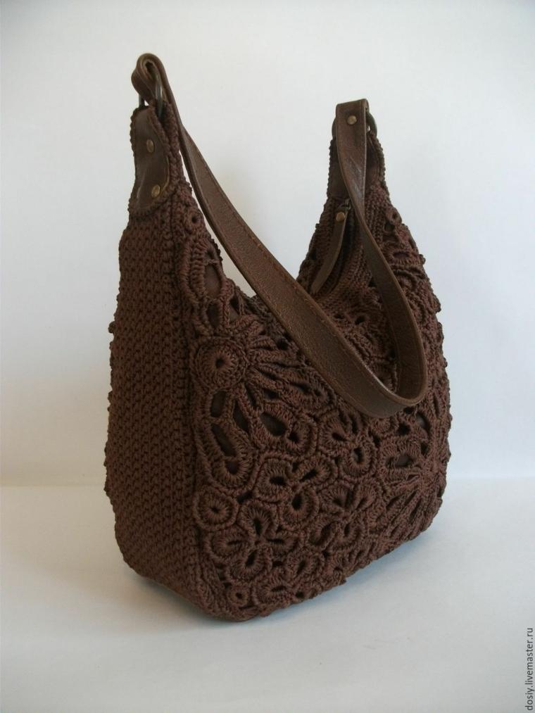 sacs tricotés modernes