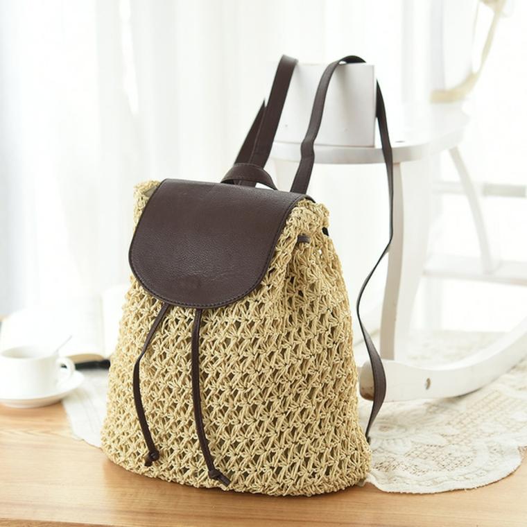 sac à dos au crochet