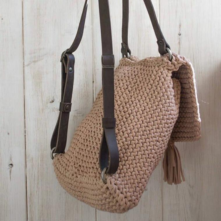 sacs à dos au crochet