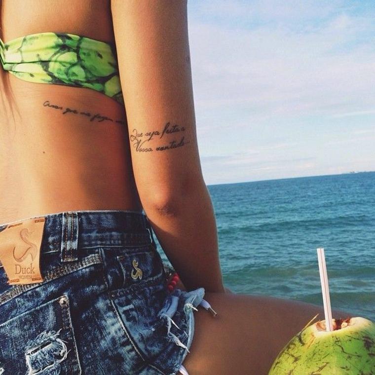 tatouages avec des lettres