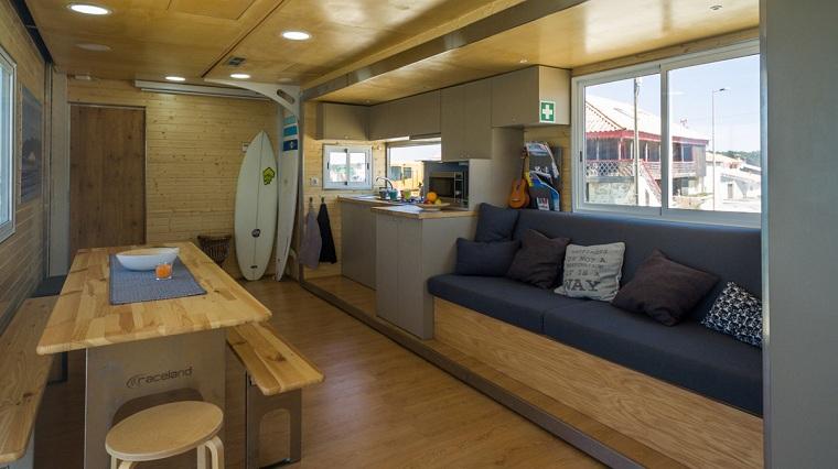camion transformé en hôtel-surf-opiones-interior