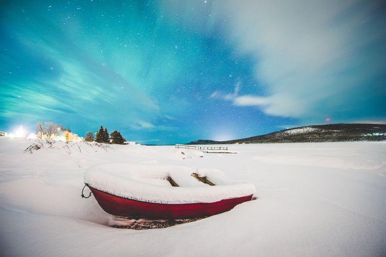 idées de glace-hôtel de style bateau