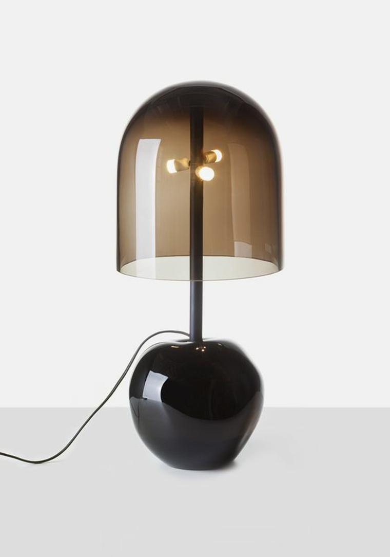 lampe design en cristal
