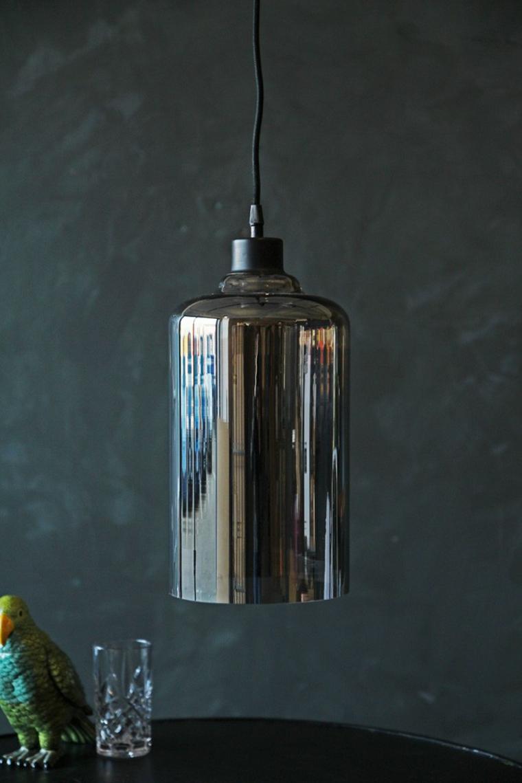 verre fumé design de lampe