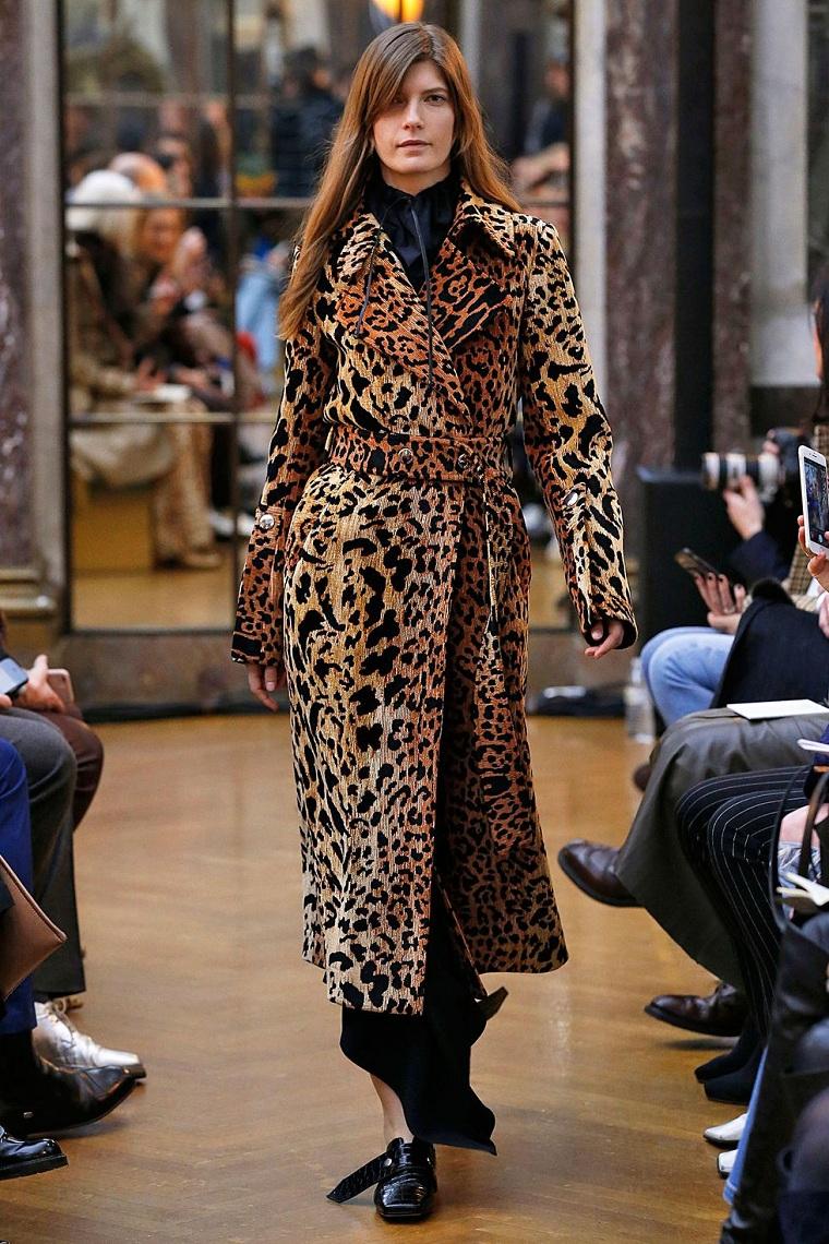 vêtements de mode 2018 victoria-beckham-stamp-feline