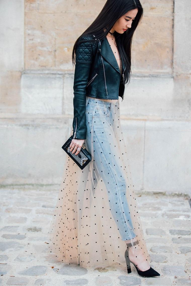 vêtements-de-mode-2018-jupe-transparent