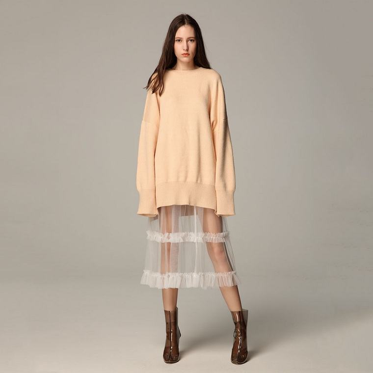 vêtements-de-mode-2018-jupe-style-transparent