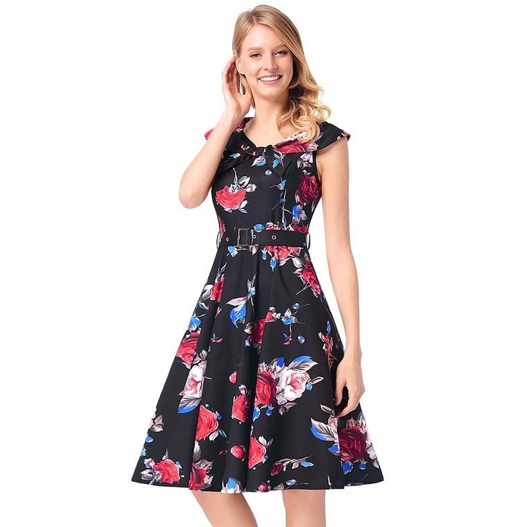 vêtements de mode pour femmes-robe-vintage