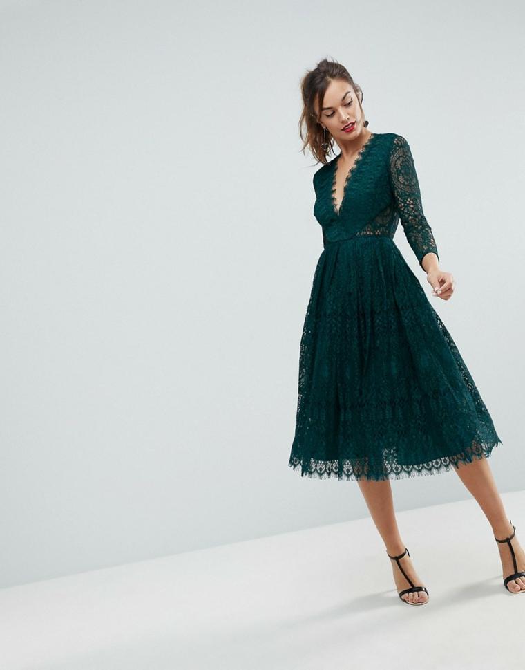 ASOS-robe-élégant-manches longues-style-moderne