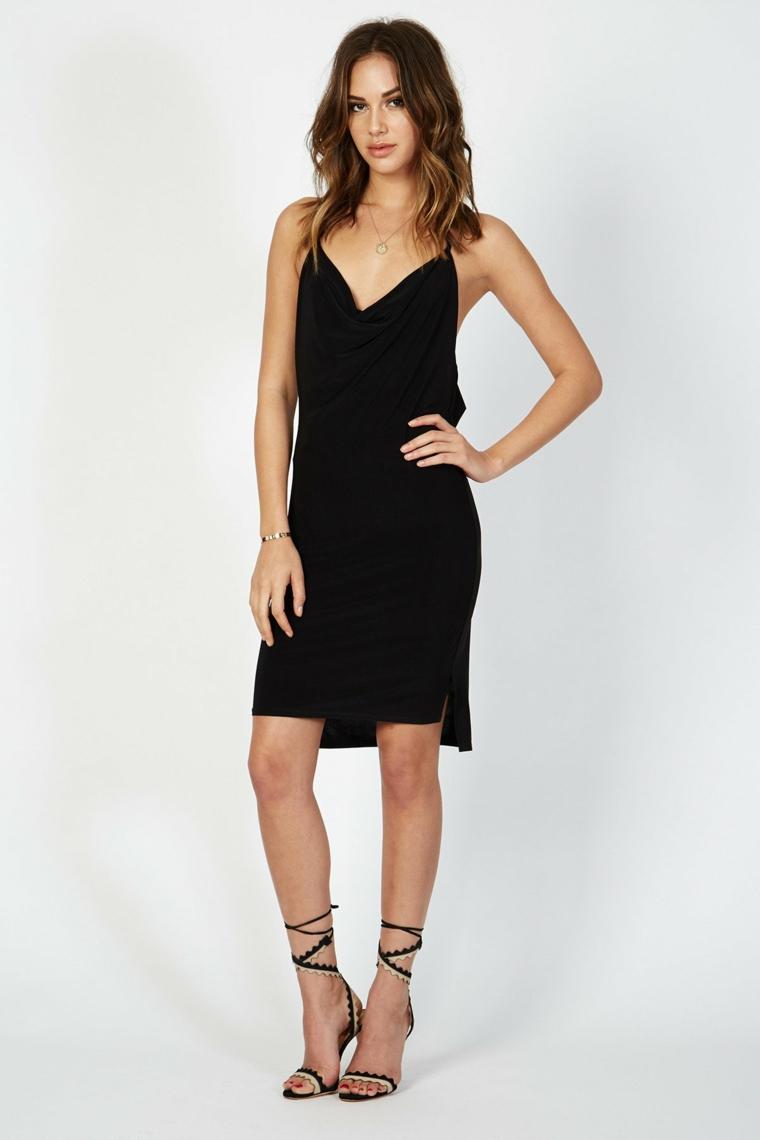 Donna-Mizani-robe-short-noir