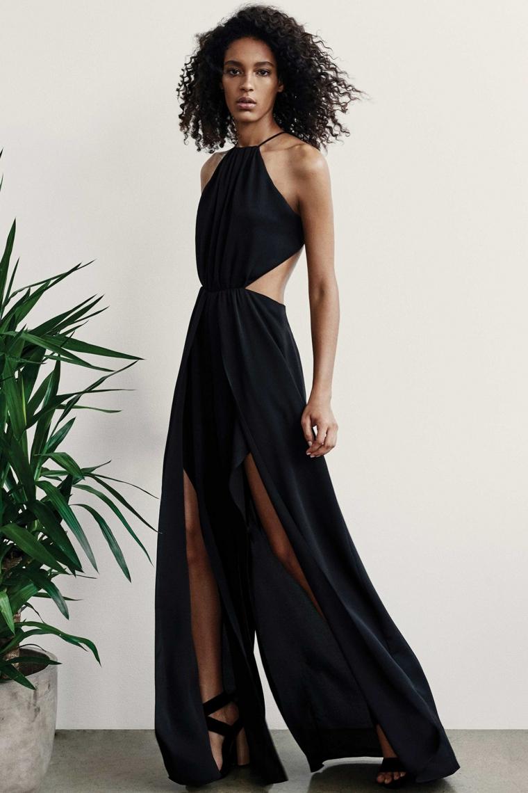halston-héritage-design-mode-vêtement-noir