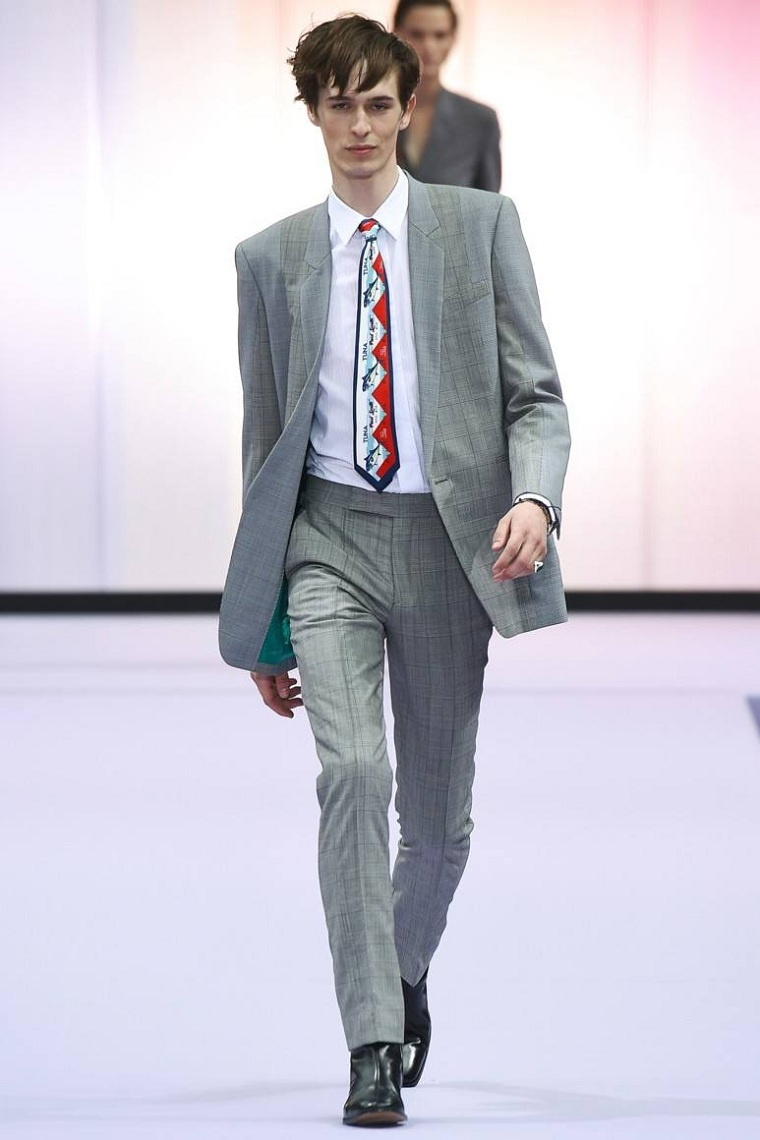 vêtements de mode pour hommes-tendances-costume-gris