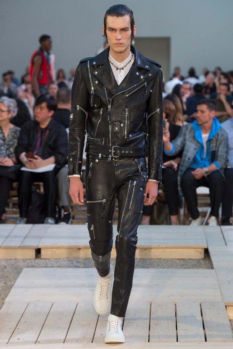 vêtements-de-mode-pour-homme-veste-pantalons-fermetures éclair