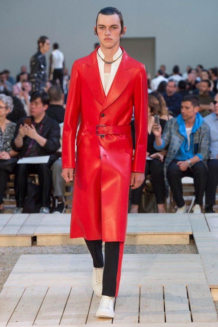 vêtements-mode-homme-manteau-long-rouge