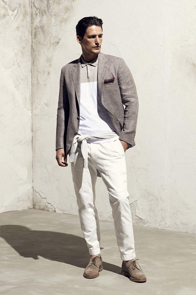 combinaison-blanc-gris-vetements-male-design