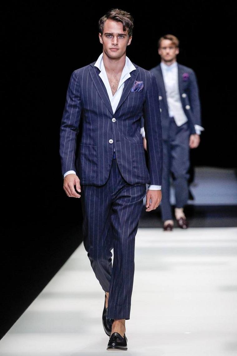 costume-bleu-rayé-design-moderne-style-masculin