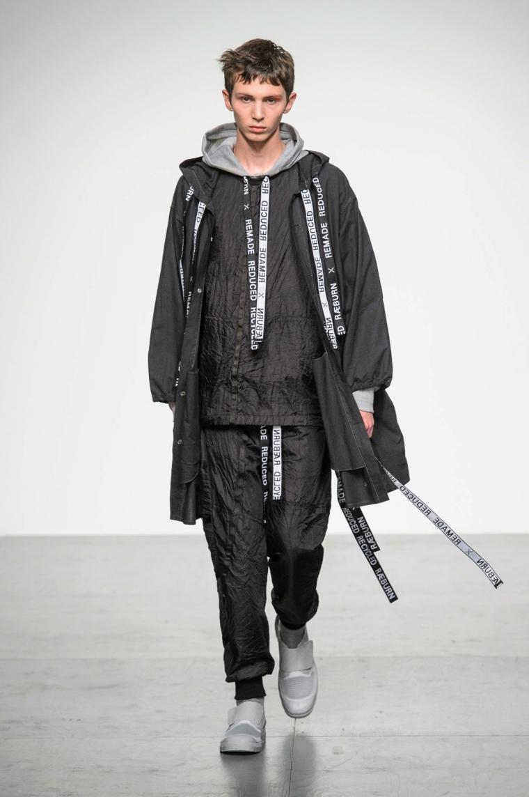 Christopher-Raeburn-couleur-noir-style moderne
