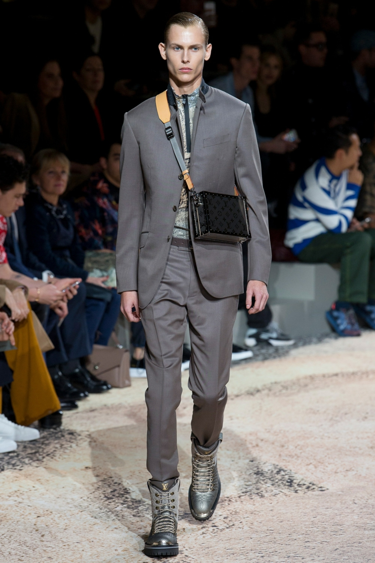 Louis-Vuitton-design-original-suit-color-grey