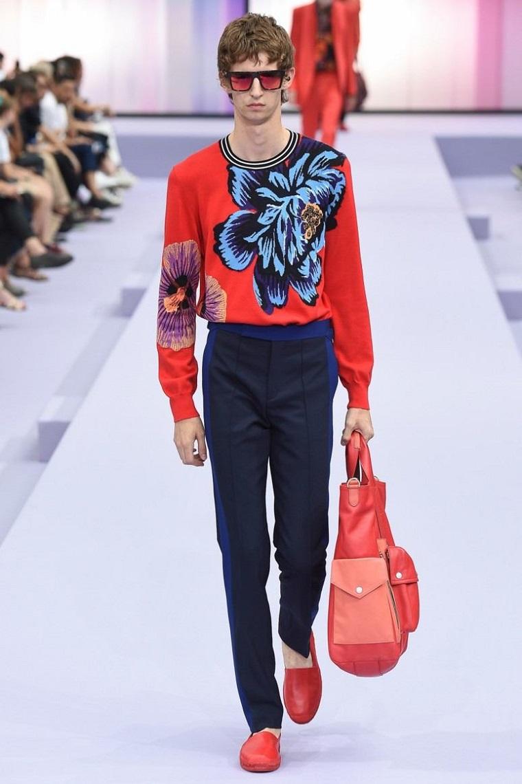 pantalon-azul-jersey-rojo-opciones-estilo