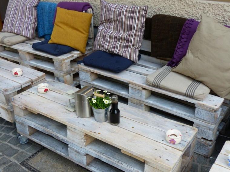 mobilier de palette recyclé