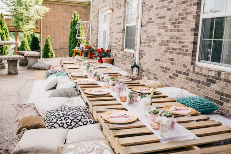 style terrasse chill out