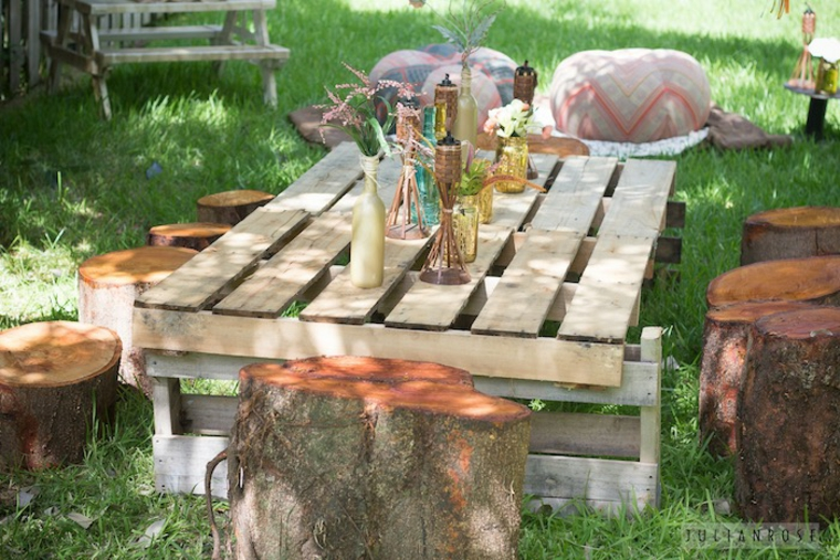 Style de table simple chill out