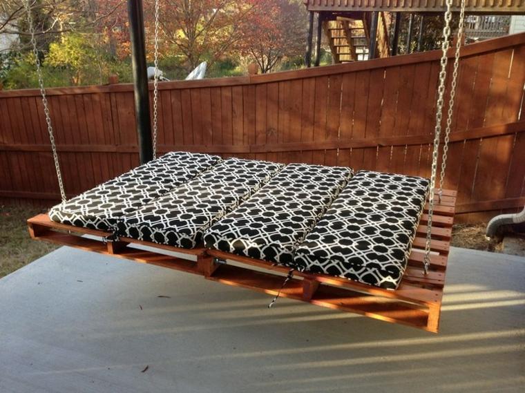 Balançoire de lit en bois confortable