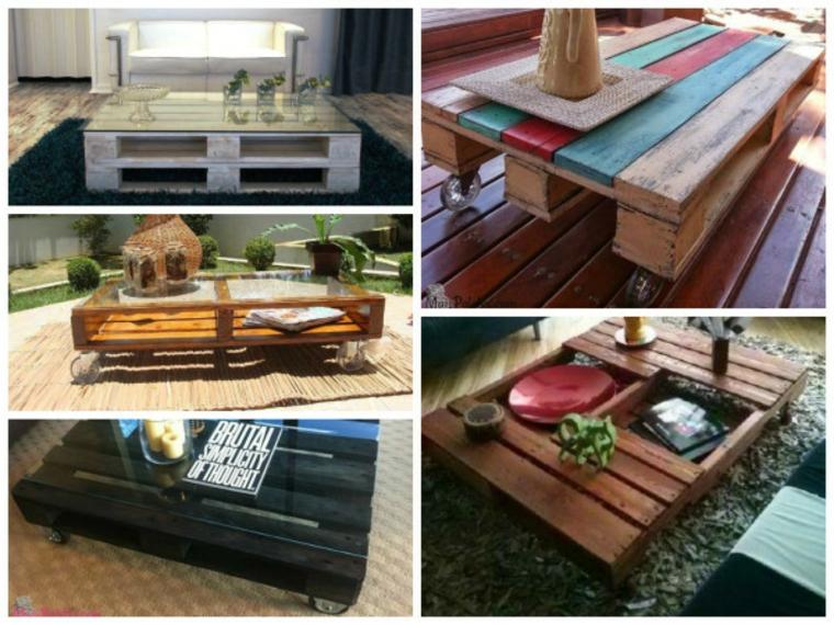 tables à palettes